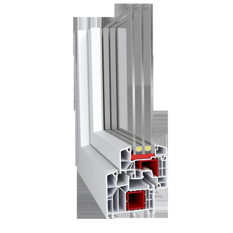 PVC-Fenster Aluplast Ideal 8000 EKSKLUZIV, 42,90 €, TFL PLUS-Türen ...
