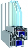 PVC-Fenster bluEvolution 92