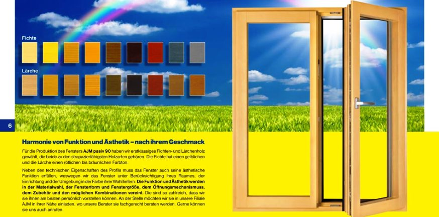 HOLZFENSTER AJM PASIV 90