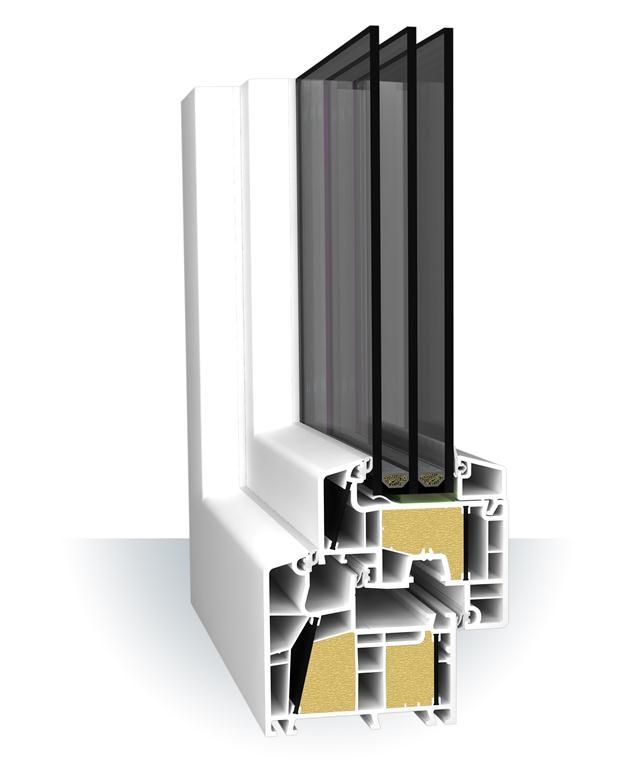 Gut bekannt PVC-Fenster Aluplast Ideal 8000 ENERGETO®, 53,90 €, TFL PLUS-Türen DF75